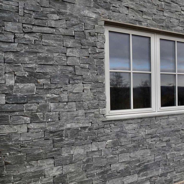 Trysil steinpanel vegg