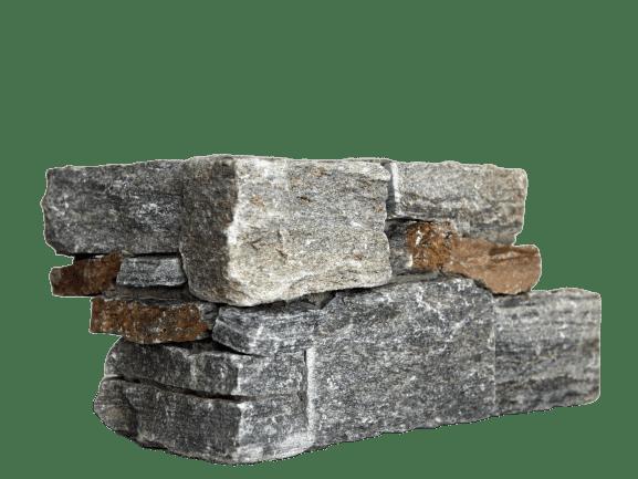 Valdres steinpanel hjørneelement