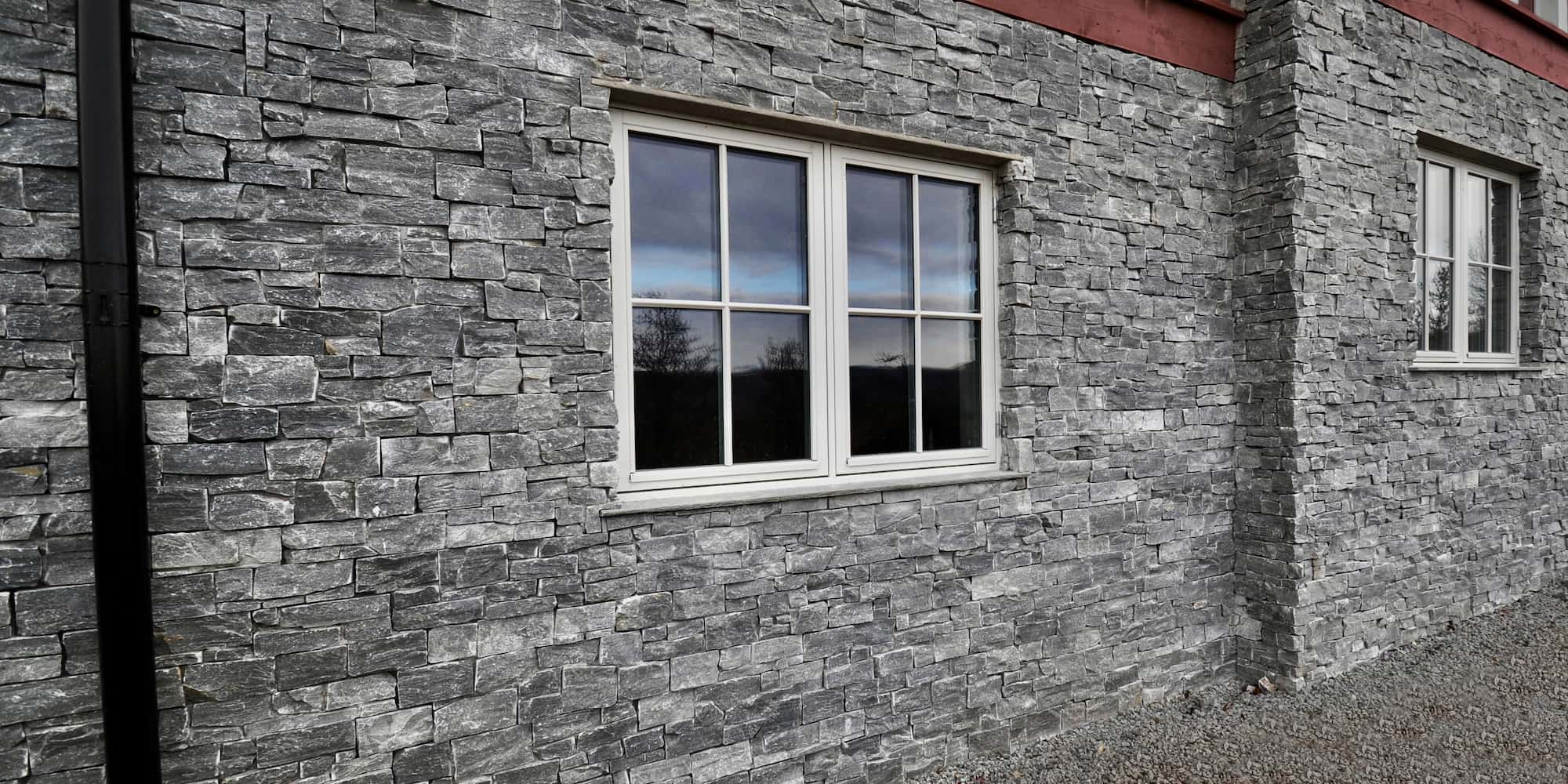 Trysil Steinpanel fasade